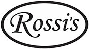 Rossis Logo BW